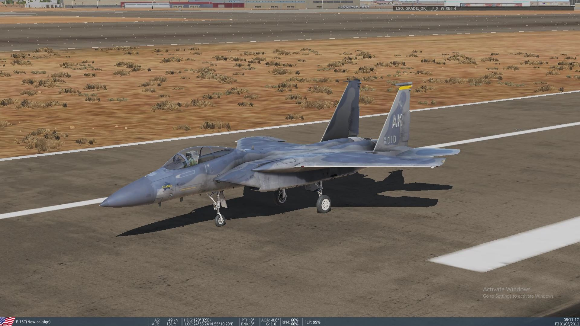 F-15C Persian Gulf Speed/Obstacle/Training course