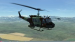 UH-1H Huey - FAMET Virtual - CAMO (Fictional)