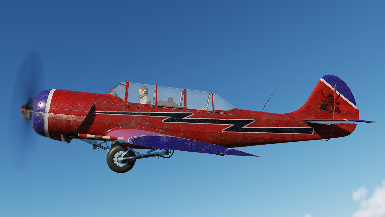 [Fictional/novelty] Yak-52: Biohazard-red, from Resident Evil Afterlife (2010)
