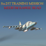 Su-25T SEAD Training