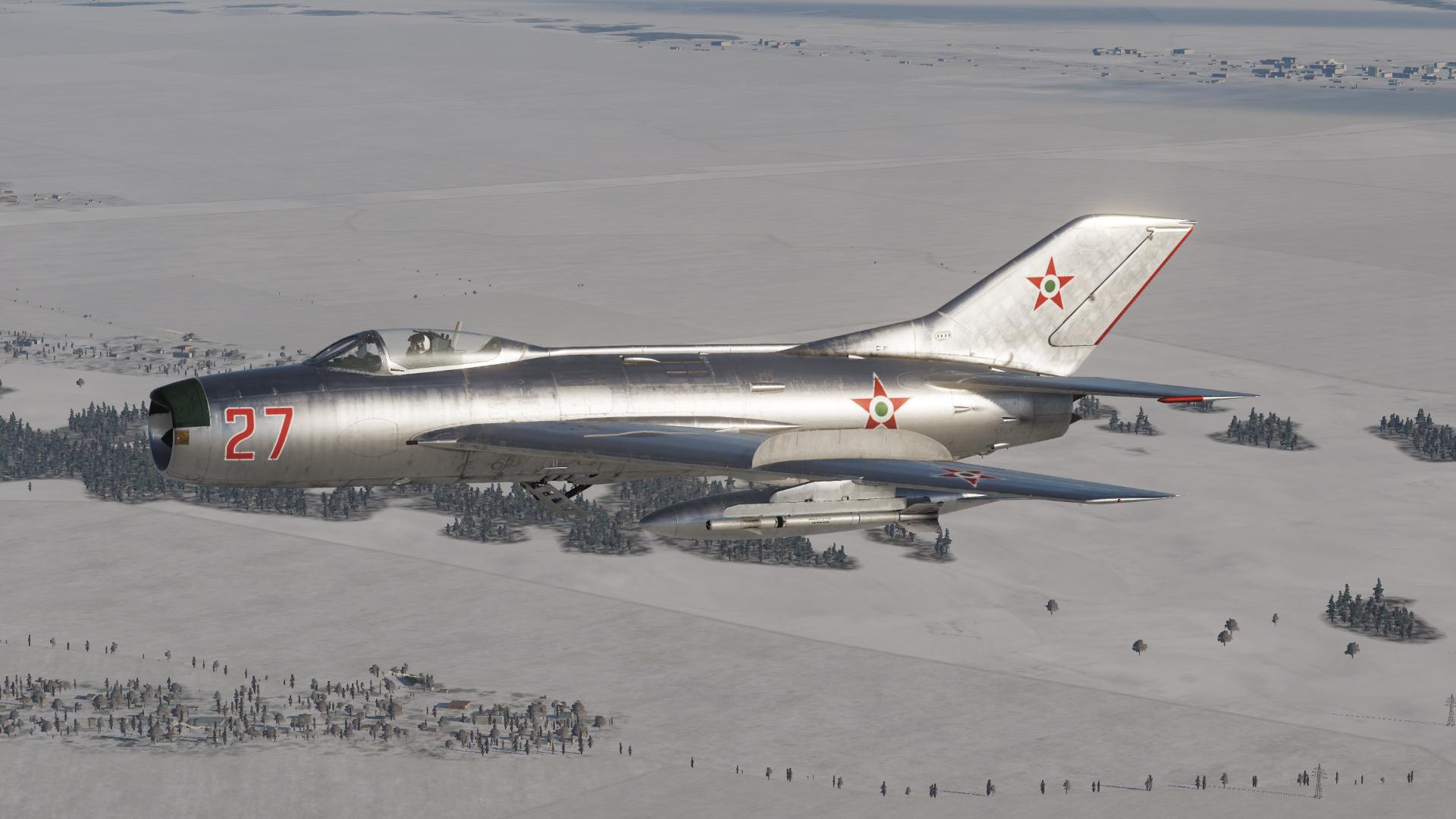 MiG-19P - Hungarian Air Force