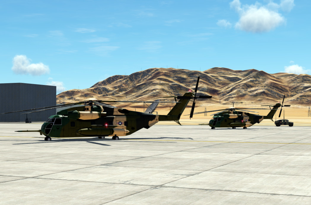 Liveries for AI  CH-53