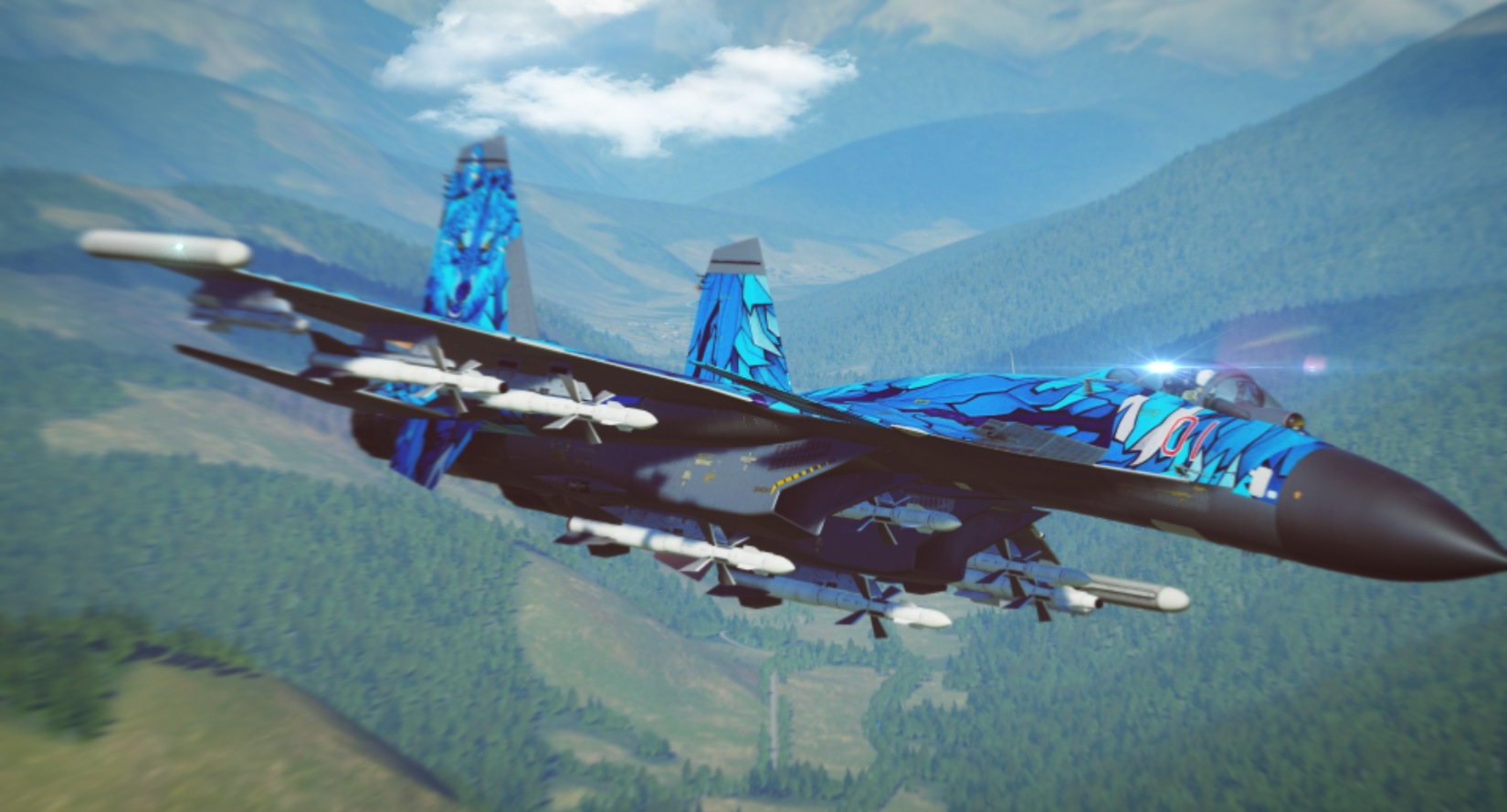 "Su-33 ""Artic-Wolf"" - Fictional"