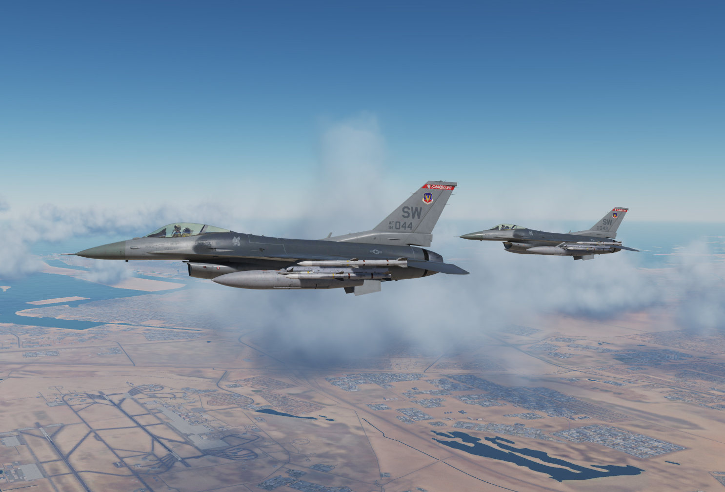 F-16C 77th Fighter Squadron