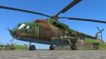 Map object, Static Mi-8 model