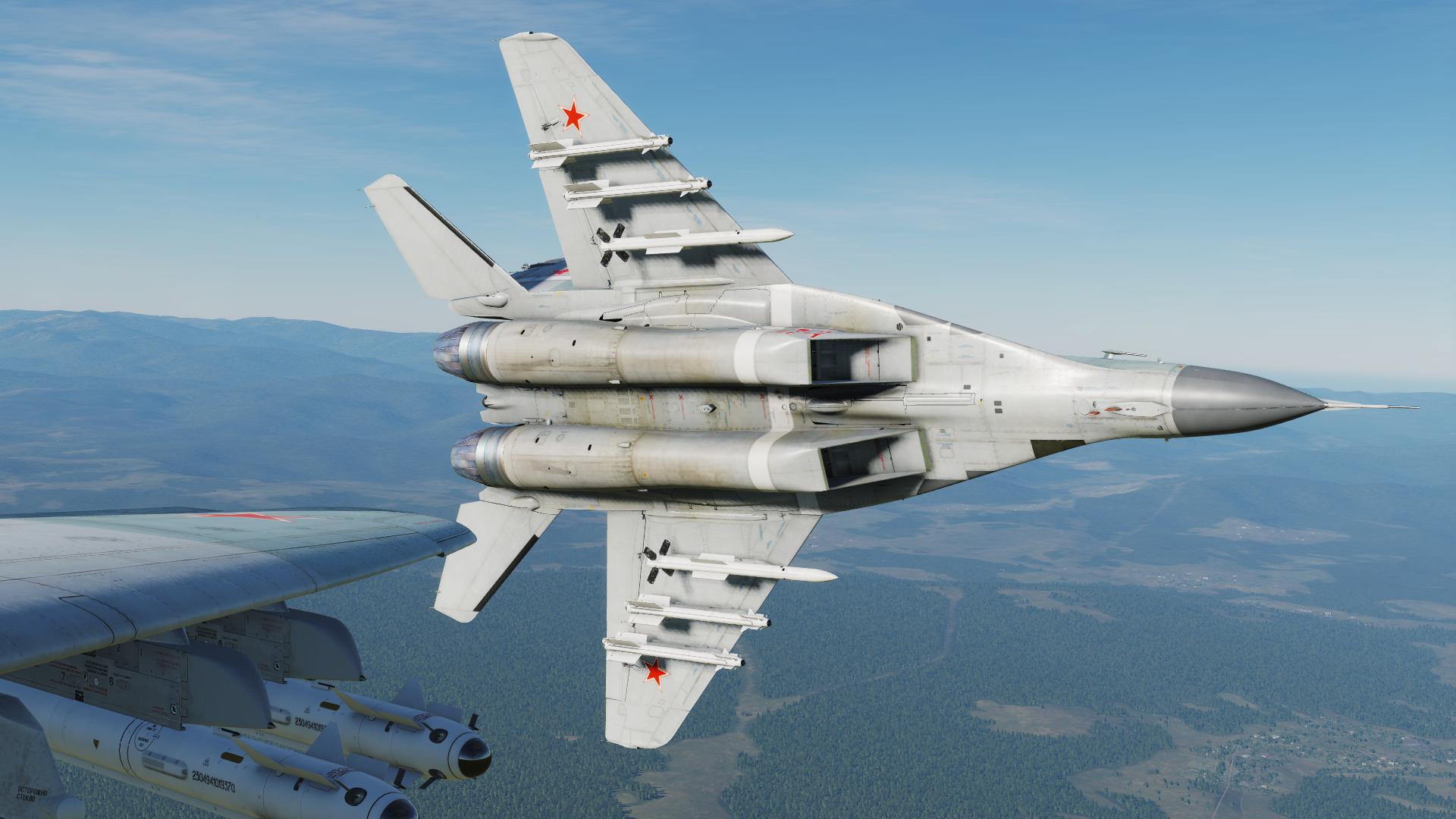 Обои Миг-29а, многоцелевой, истребитель, fulcrum. Авиация foto 2