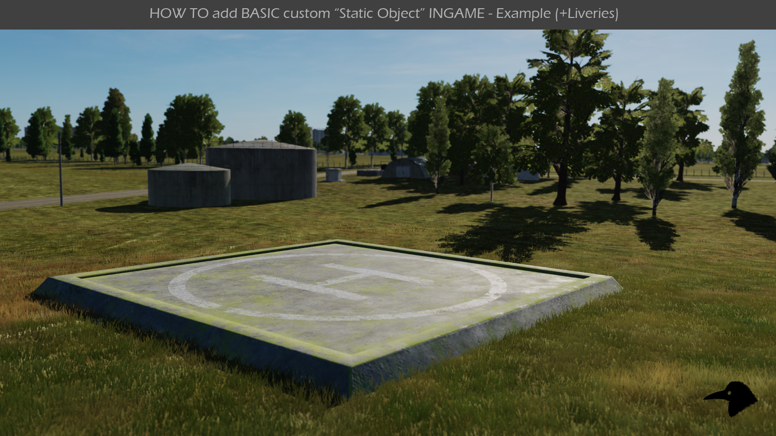 "HOW TO add BASIC custom ""Static Object"" INGAME Mod"