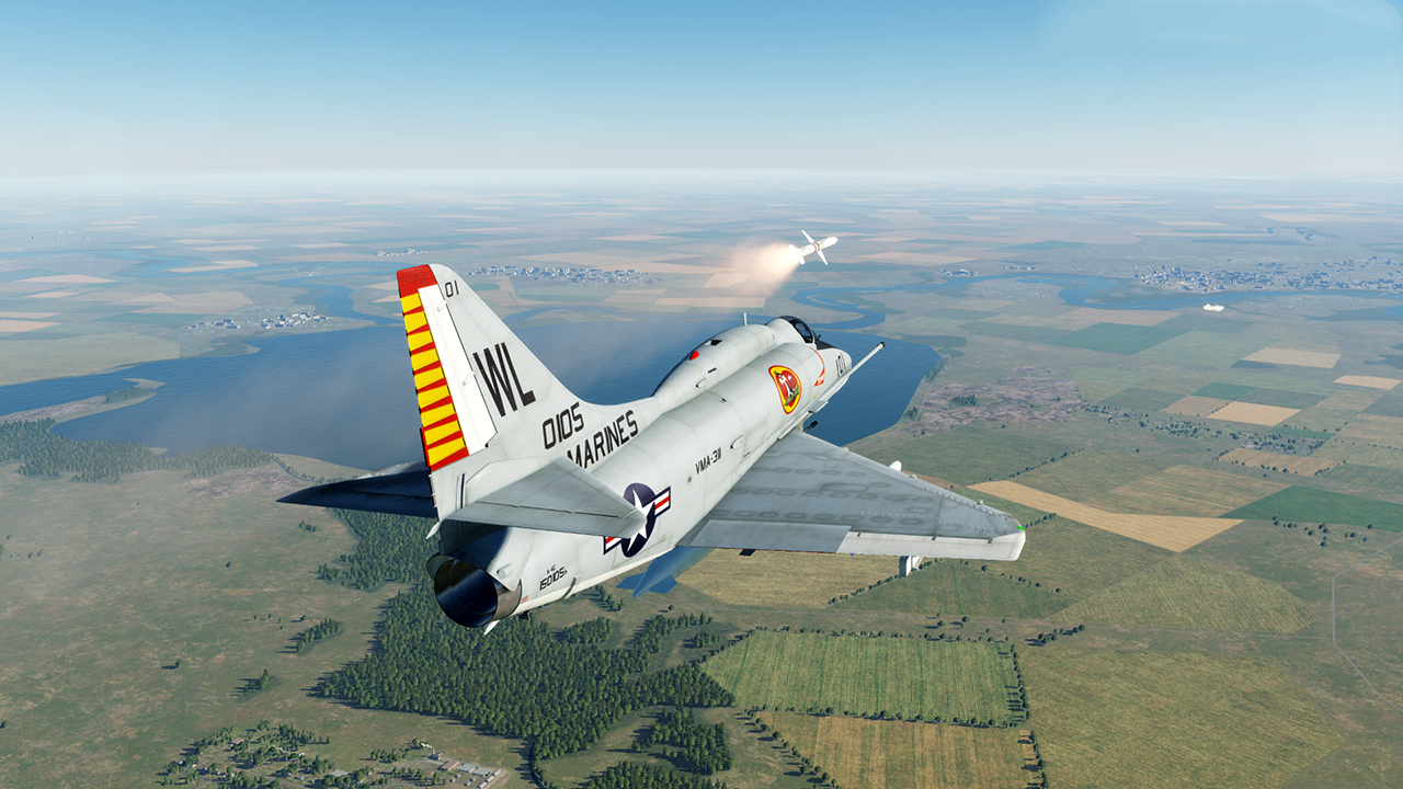 Operation Telephone Pole - an Iron Hand mission for the A-4E Skyhawk