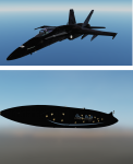 Star Stuff, fictional F/A-18C Skin