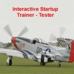 P-51D Mustang Interactive Start up Trainer Tester