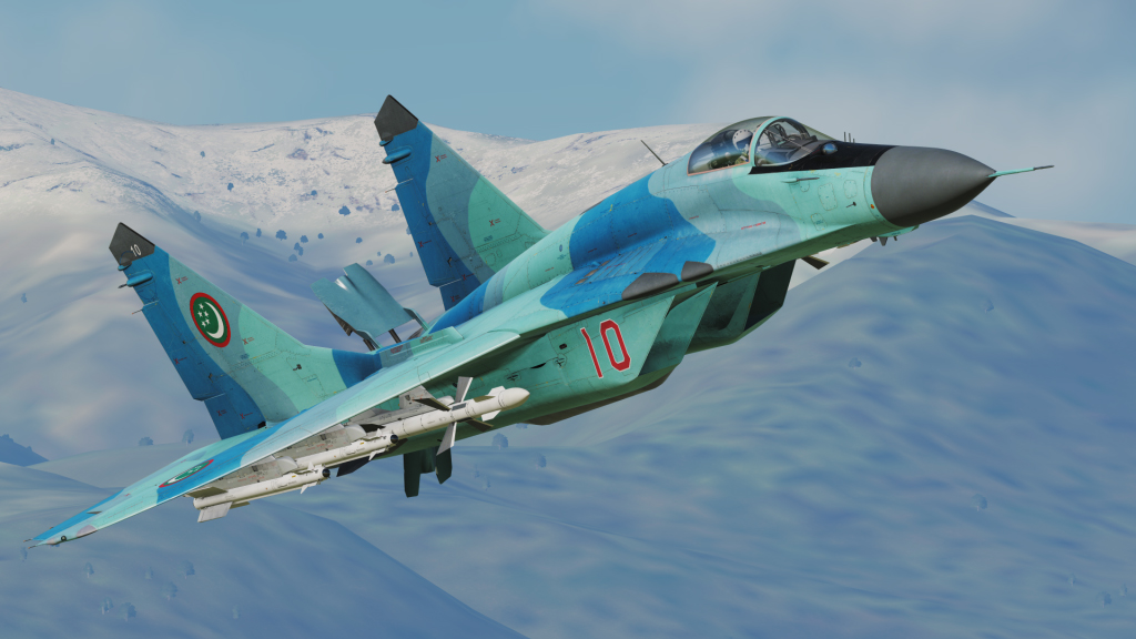 MiG-29S - Turkmenistan Air Force