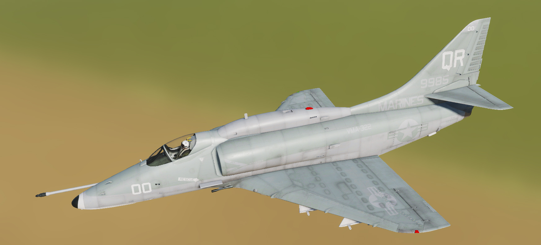 A-4E: VMA-322 Fighting Gamecocks