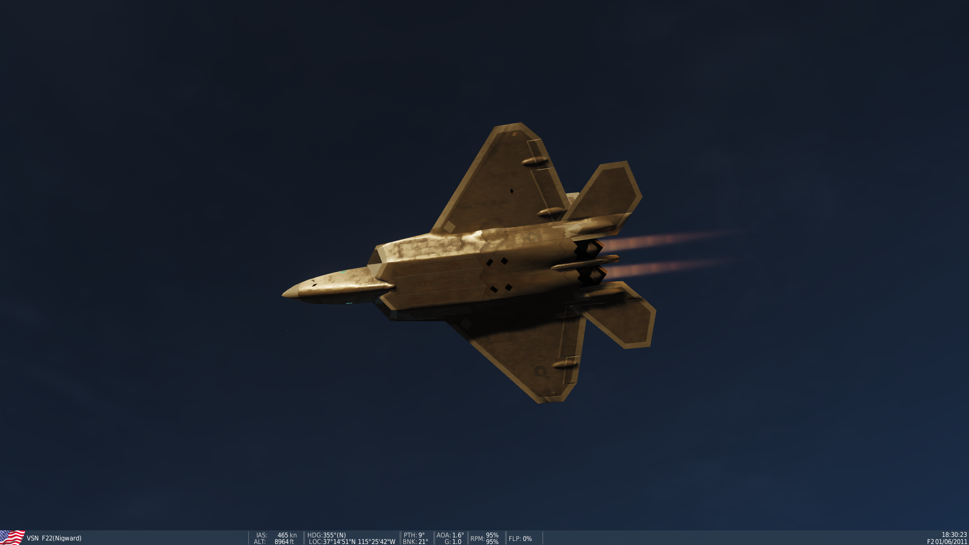 VSN Afterburner length FIX