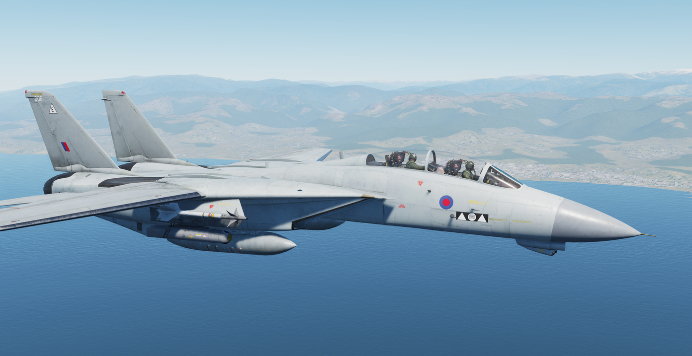 Fictional RAF F-14 Tornado GR4 Liveries part 2/4 (31 & II(AC) Squadrons)