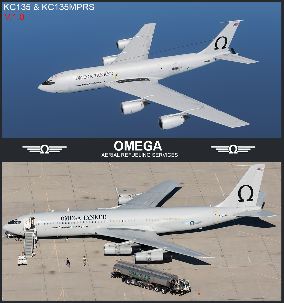 KC-135 OMEGA TANKER [ FICTIONAL ]