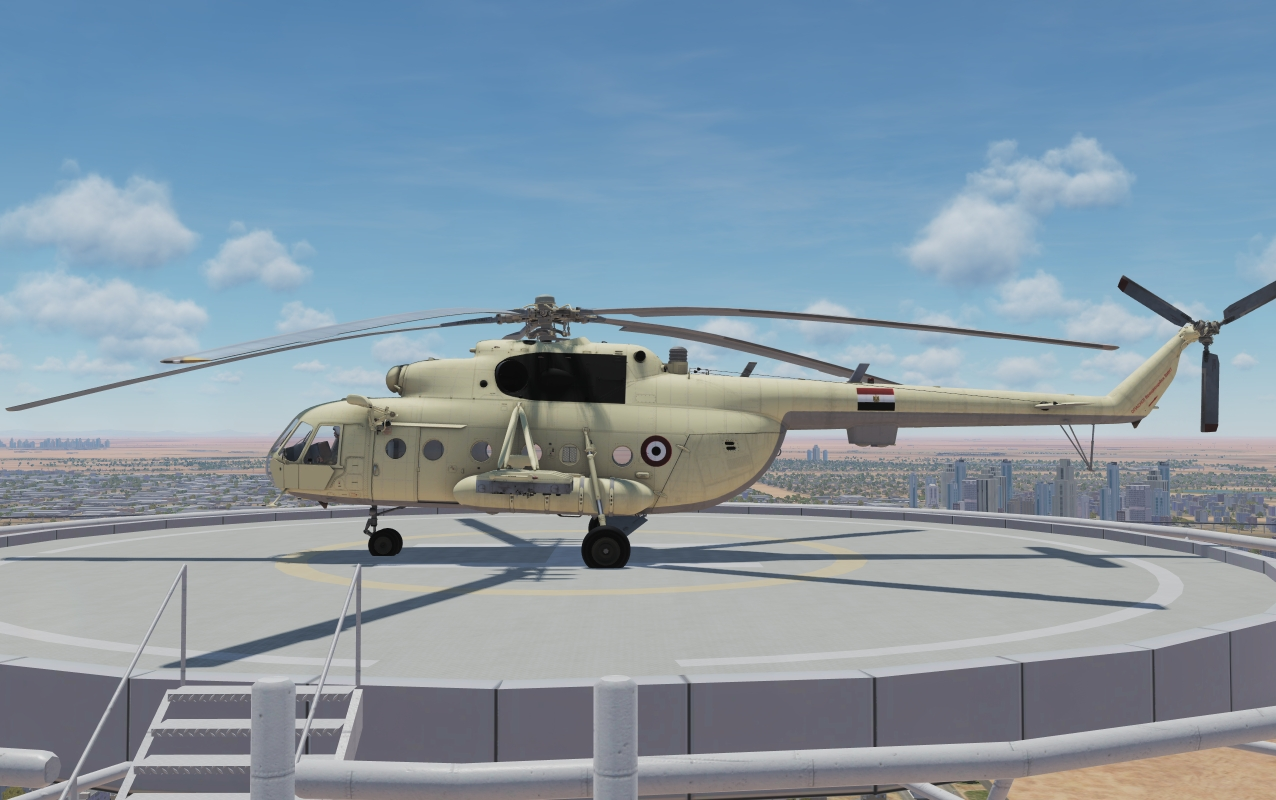 Egyptian Air Force - Mil Mi-8