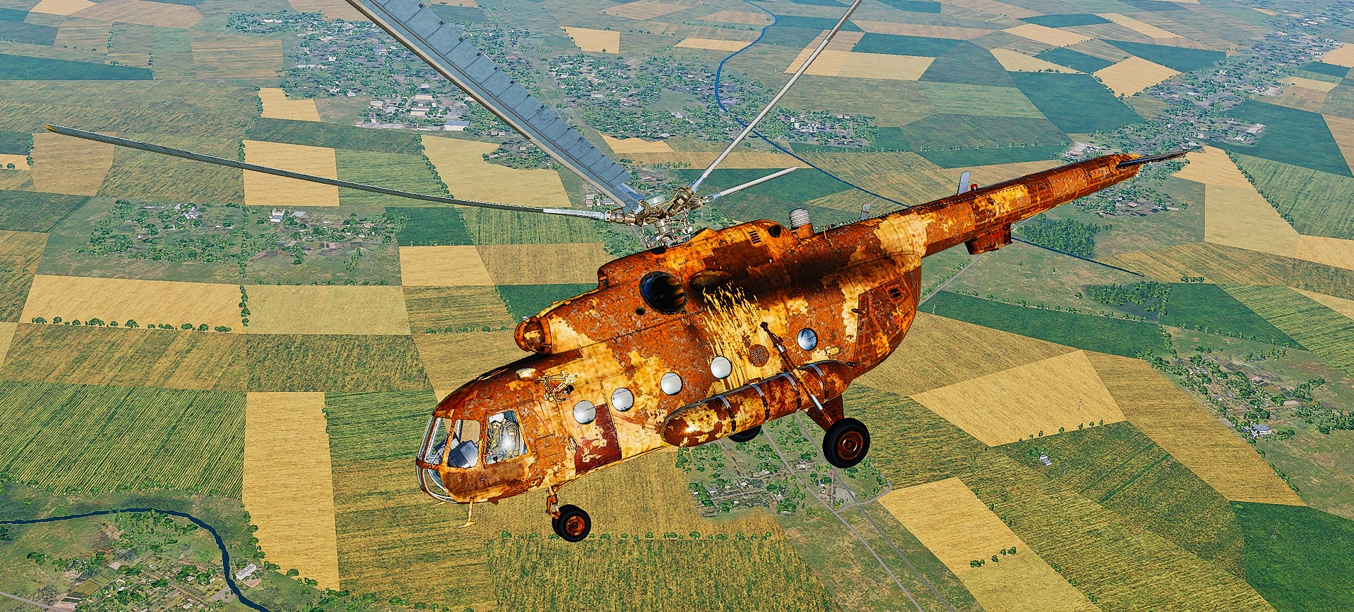 Rusty and Crusty Mi-8