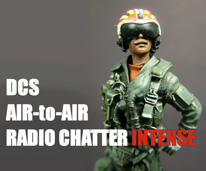 DCS Air-to-Air Radio Chatter INTENSE
