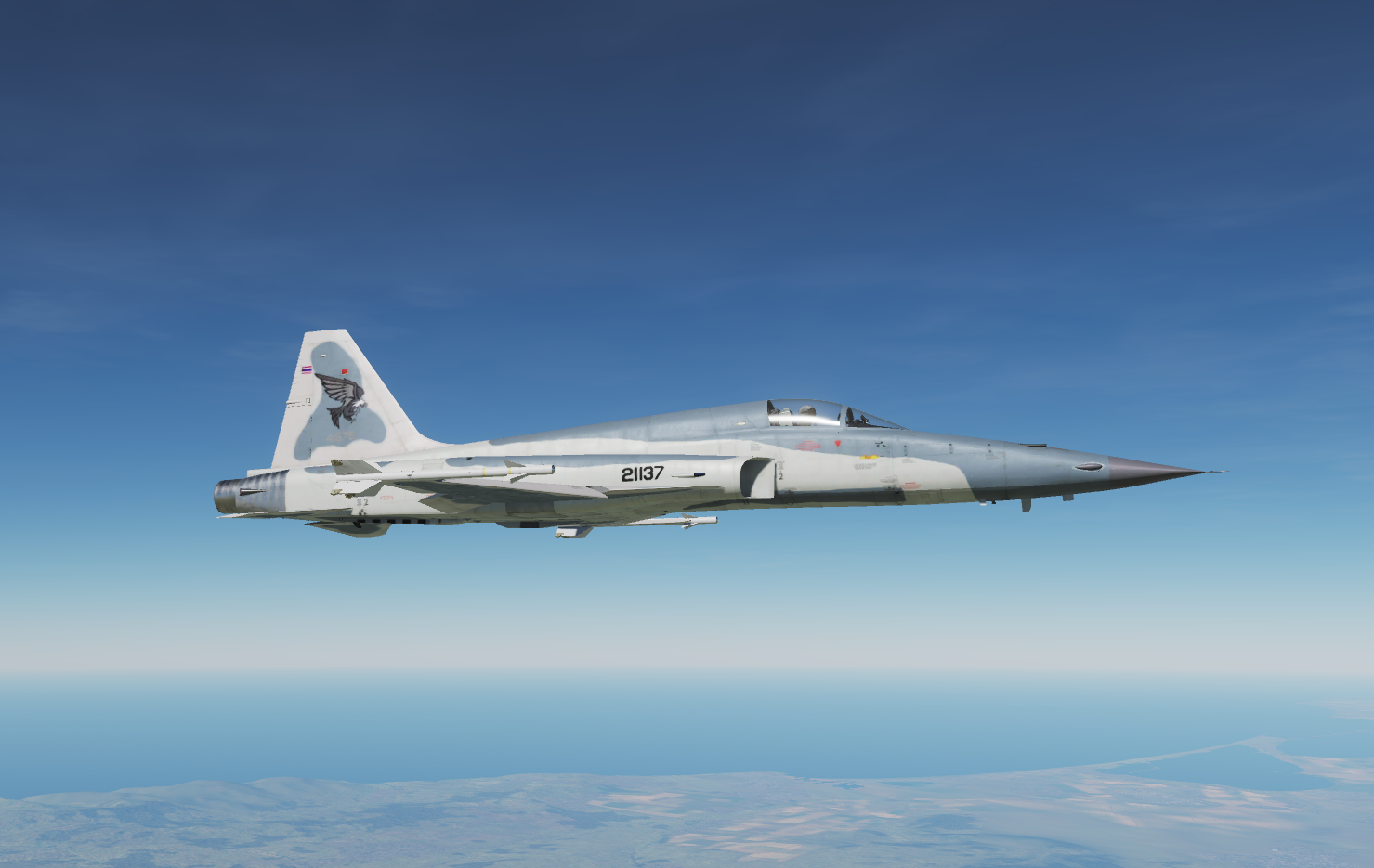 New colours for RDAF F-16