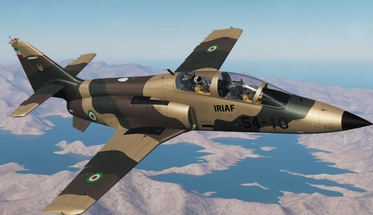 Fictional Iranian C-101CC Livery (Updated)