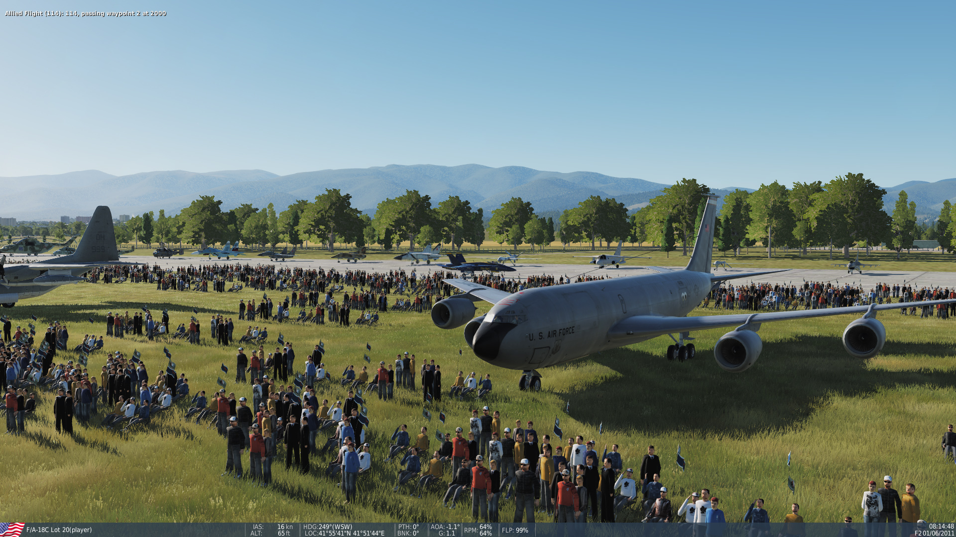 Kobuleti Air Show  - Use Any DCS World Aircraft