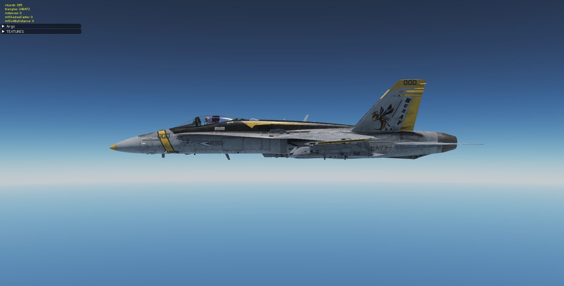 Hungarian F-18C Ghost by Ga-Bika 1.1 (fictional)