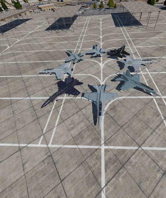 *UPDATE* VSN F/A-18D International Livery Pack