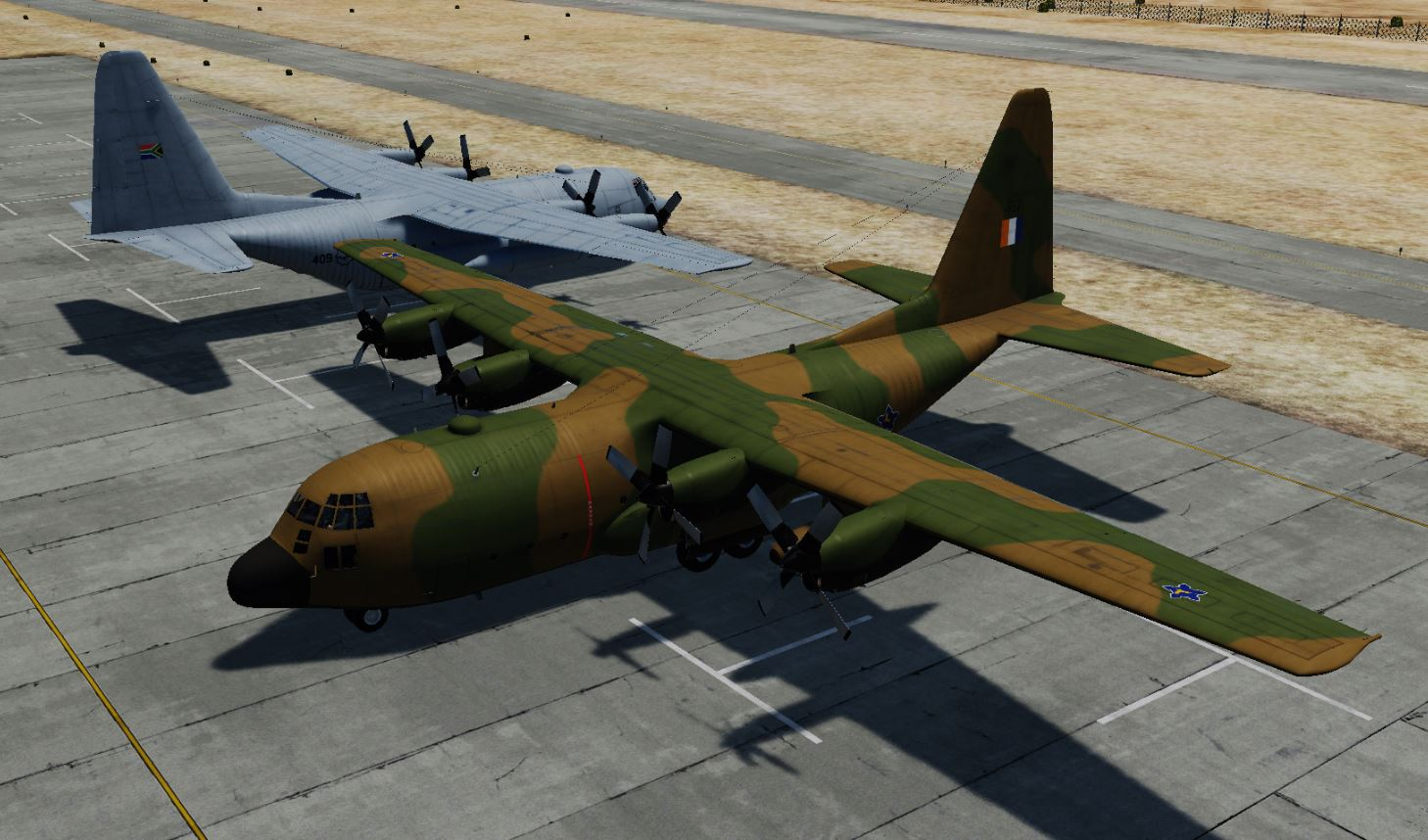 SAAF C-130's (Updated)