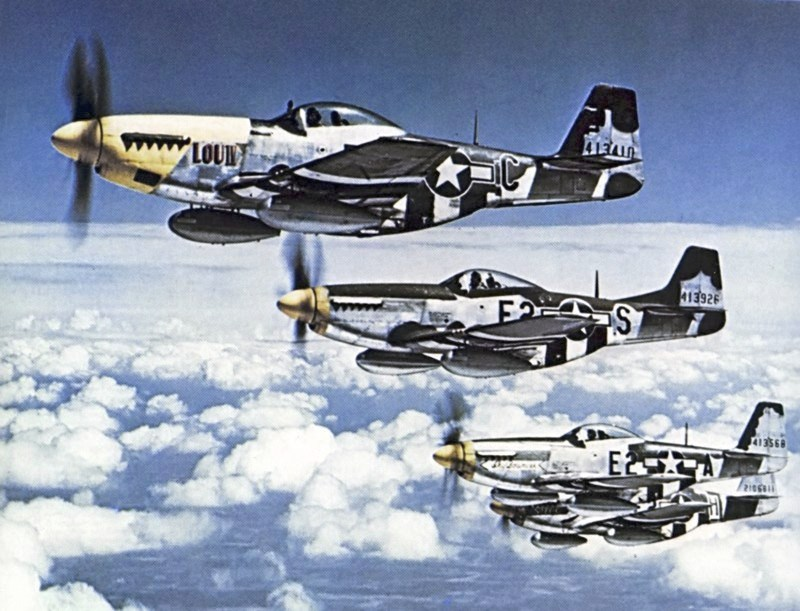 P-51D head to head mission.