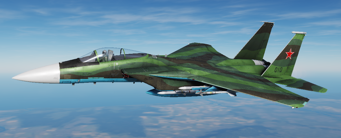 F-15 Redfor Livery (Fictional)