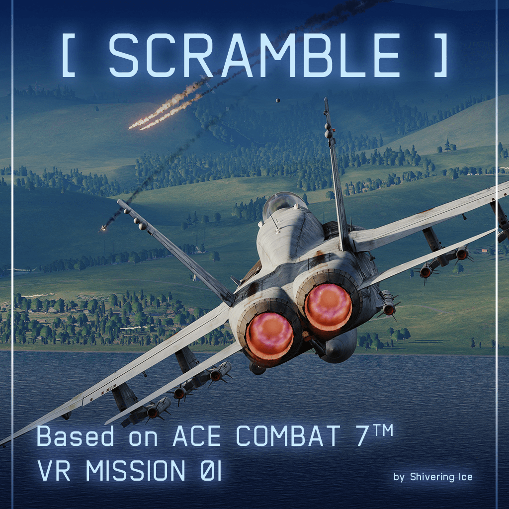 """SCRAMBLE"" – Ace Combat 7 VR Mission 1 Recreated in DCS World"