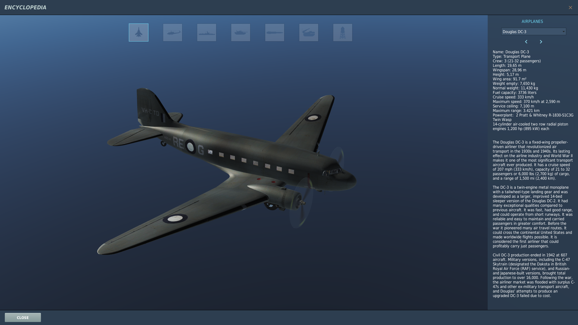 DC3/C47 Paratroop Encyclopedia