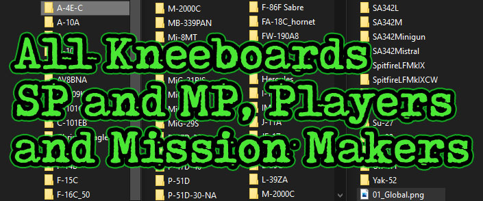 All DCS Kneeboards for SP and MP, Players and Mission Makers
