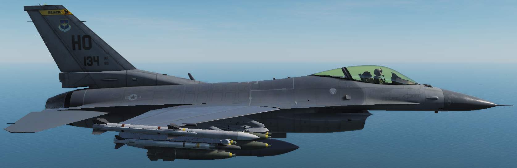 (Updated)F-16C: 8th Fighter Squadron - The Black Sheep