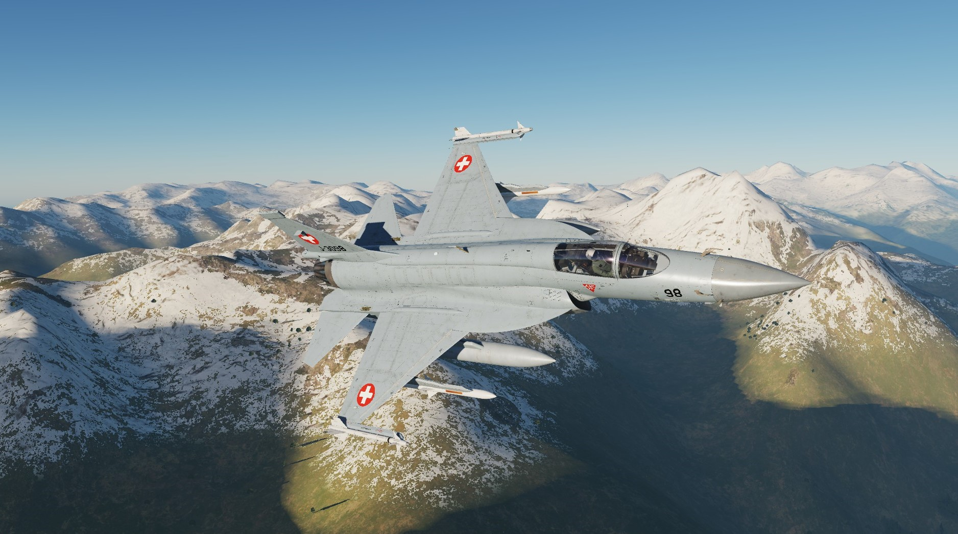 SWISS AIR FORCE JF 17 (F-5 STYLE)