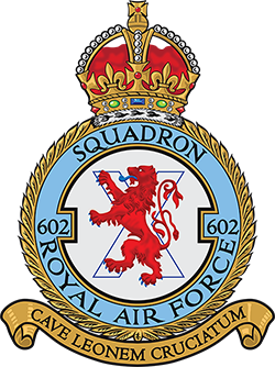 No.602 Sqn RAF City Of Glasgow Package