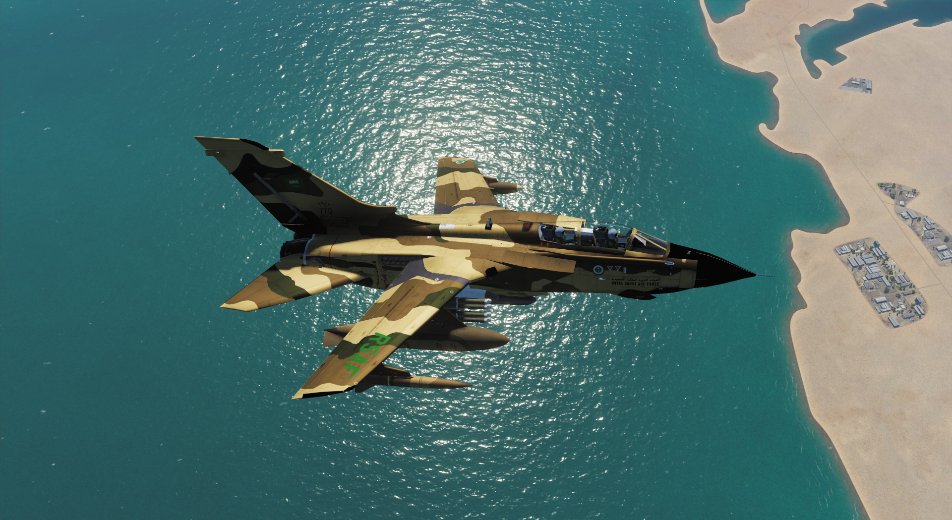 Royal Saudi Air Force Tornado Camouflage_2