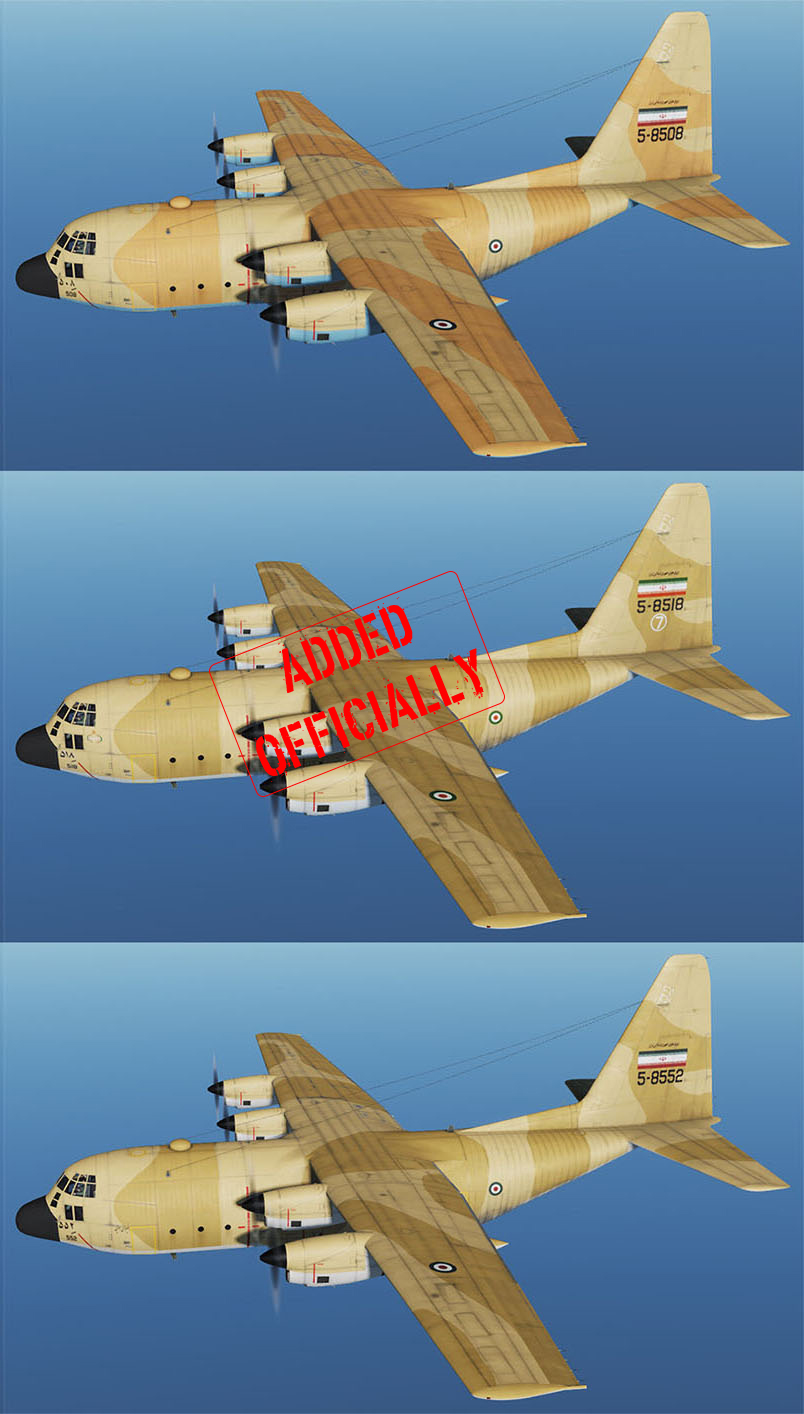 IRAN AIR FORCE C-130 pack2