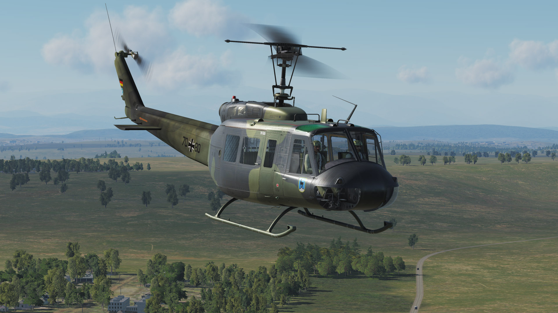 UH-1 Huey Luftwaffe eight skin pack