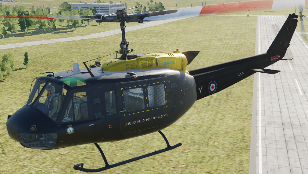 Fictional RAF UH-1H 60 SQN Griffin HT1 ZJ238 DHFS