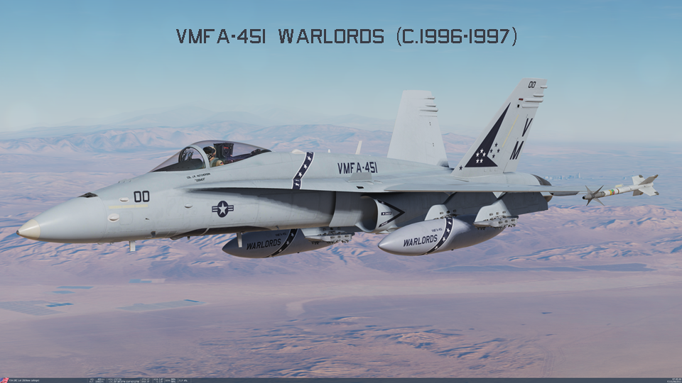 VMFA-451 Warlords (c.1996-1997) Part 2/2