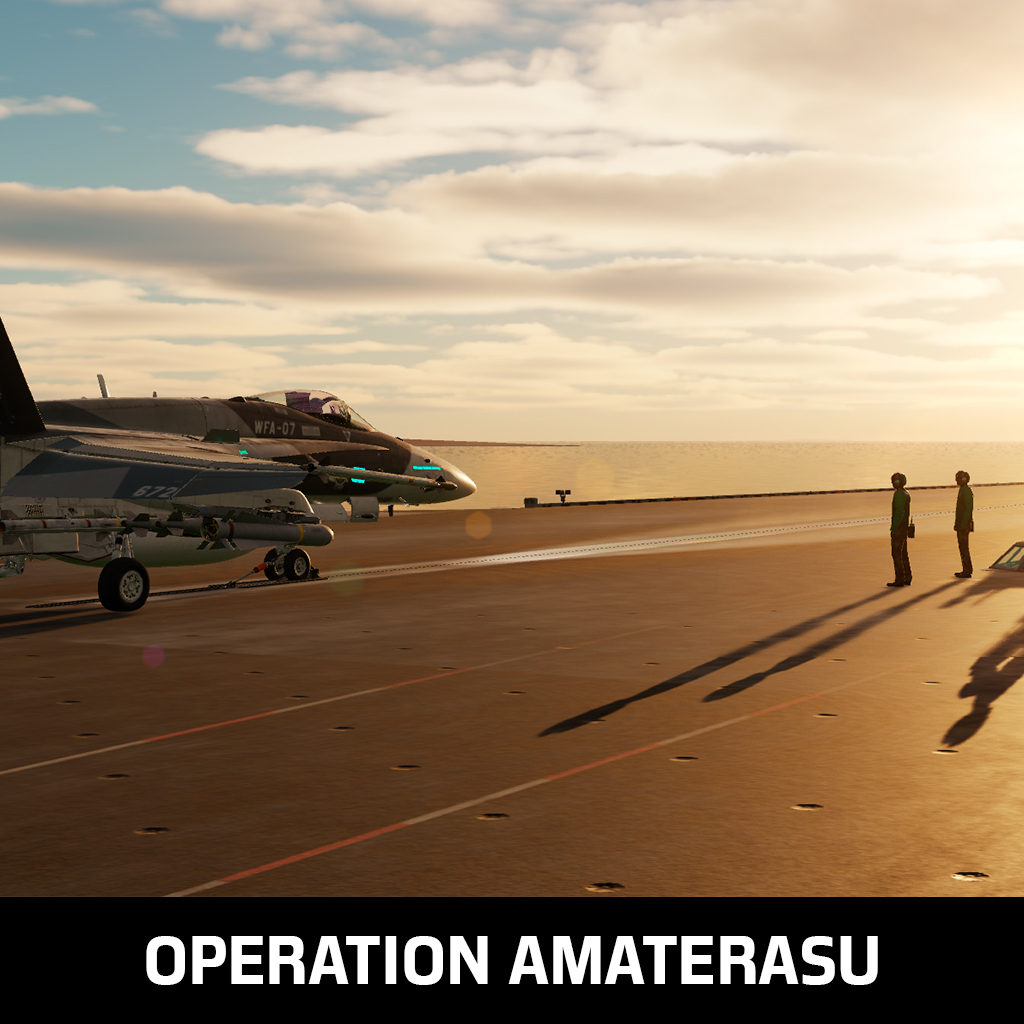 Operation Amaterasu - F/A-18C & A10-C II - A Coop mission with voiceovers in Persian Gulf