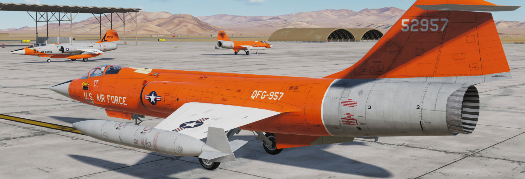 QF-104 Drones (for VSN F-104)