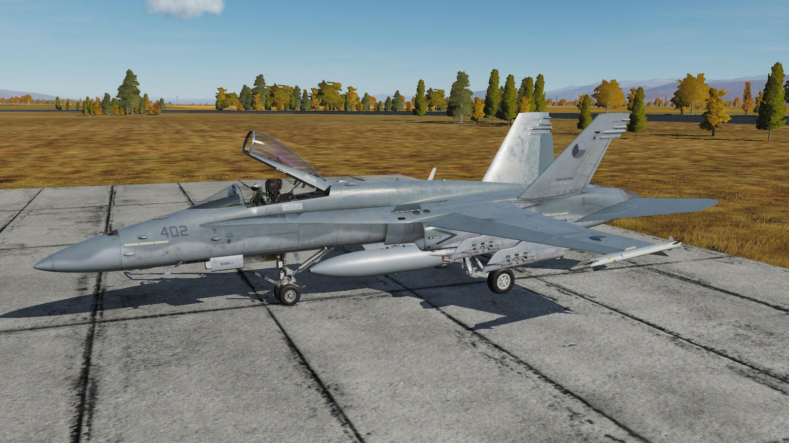F/A-18 Fictional Czech Air Force AVS (alliance of virtual squadrons)