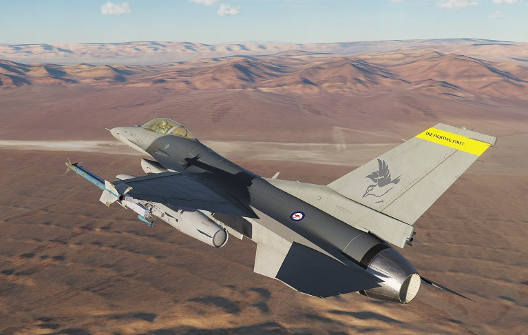 The Fighting First (RAAF) Fictional Viper