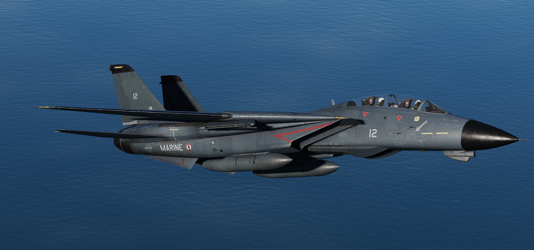 [Fictional] F-14B TOMCAT - French Navy - Flottille 12F - 90s - V1.01
