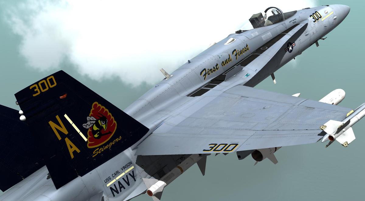 Vfa 113 Stingers F A 18c Skin Pack