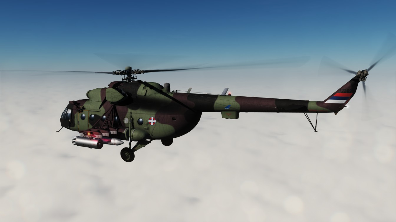 Mi-8 Serbian Air Force