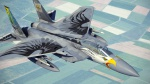 F-15C Oregon ANG 75th anniversary skin