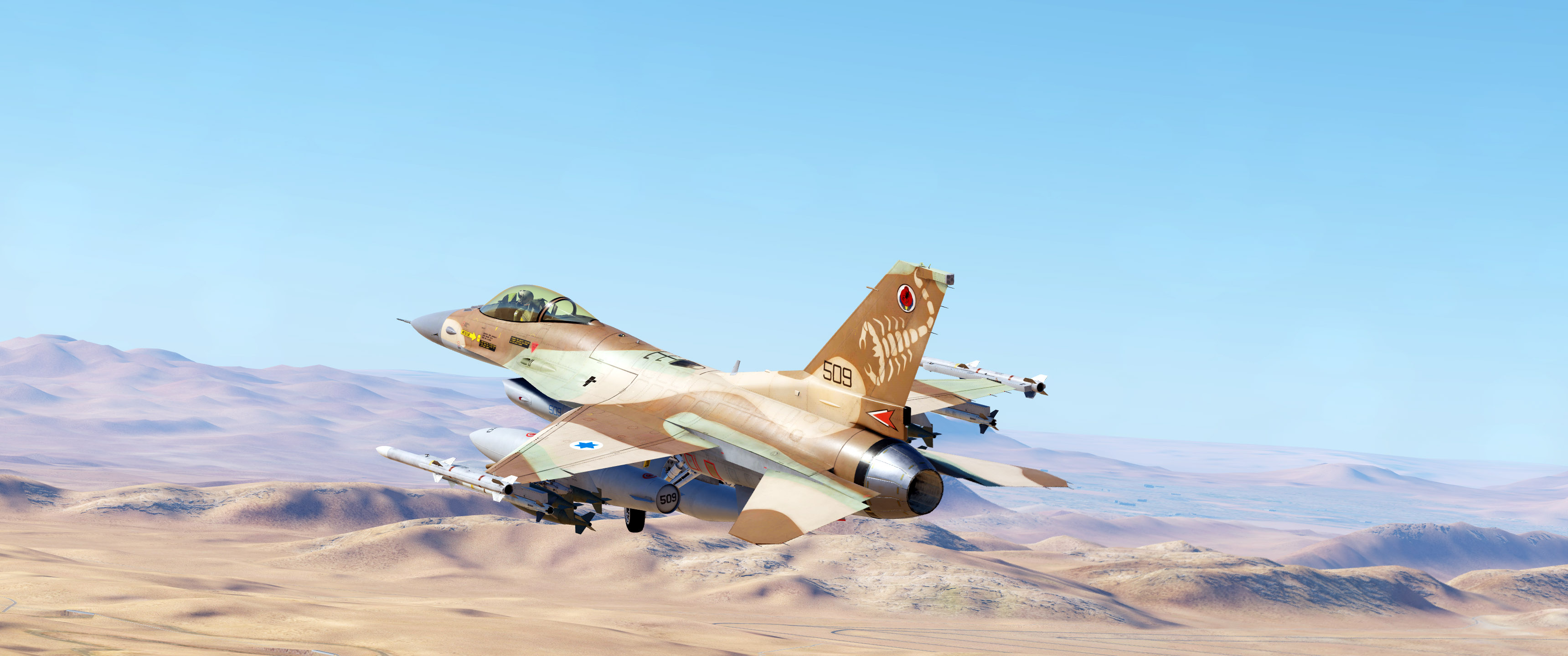 [Updated] IAF F16C - 105 Squadron - The Scorpion